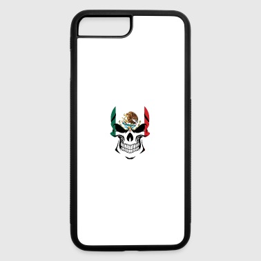 Mexican Flag Skull - iPhone 7 Plus/8 Plus Rubber Case