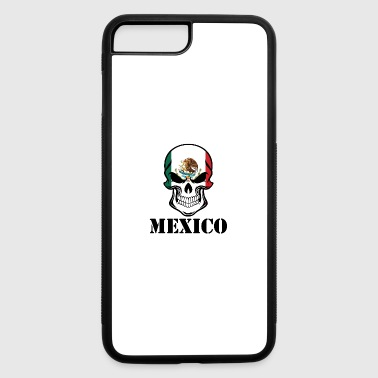 Mexican Flag Skull Mexico - iPhone 7 Plus/8 Plus Rubber Case
