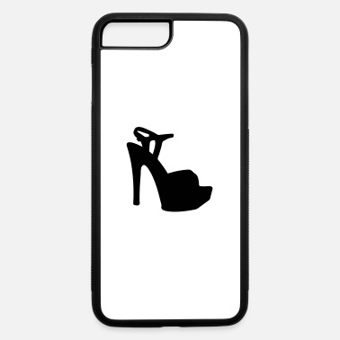 Highheeled Shoes Vector high heels shoes Silhouette - iPhone 7 & 8 Plus Case