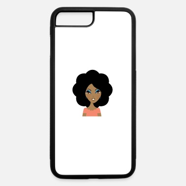 Bloom Afro In Bloom - iPhone 7 Plus/8 Plus Rubber Case