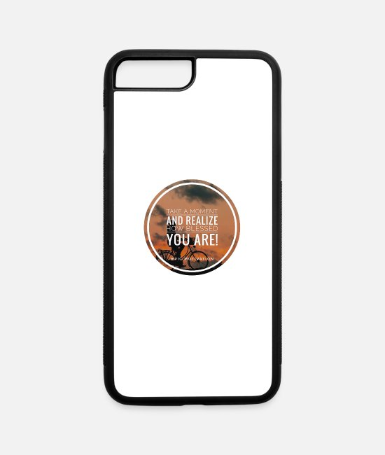 Inspiration iPhone Cases - blessed you - iPhone 7 & 8 Plus Case white/black