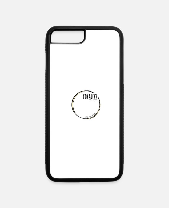 Hipster iPhone Cases - I Saw Totality. I came. I saw. Totality. - iPhone 7 & 8 Plus Case white/black