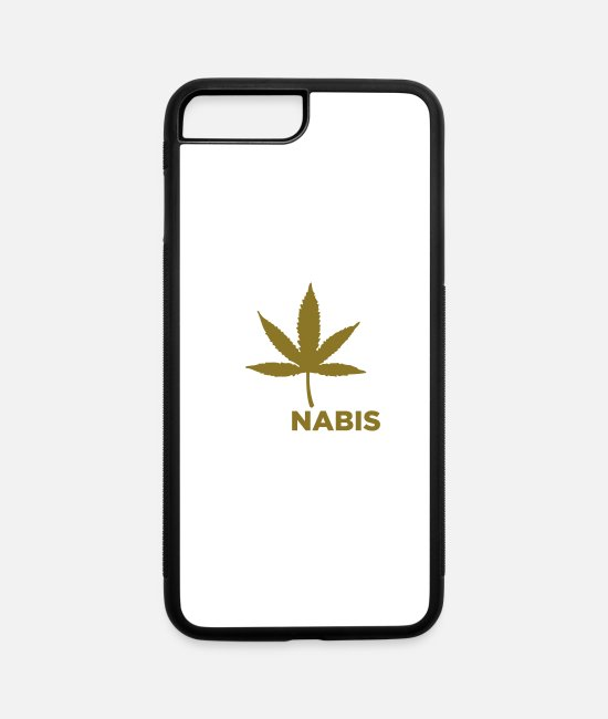 Weed Funny iPhone Cases - Yes We Cannabis! - iPhone 7 & 8 Plus Case white/black