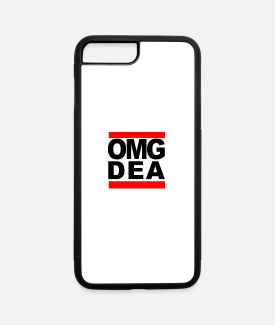 OMG DEA iPhone Cases - OMG DEA - iPhone 7 & 8 Plus Case white/black