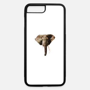 Geographic Elephant Geographic Head Illustration - iPhone 7 & 8 Plus Case