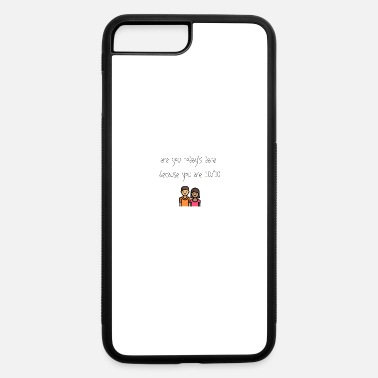 Date Today's date - iPhone 7 Plus/8 Plus Rubber Case