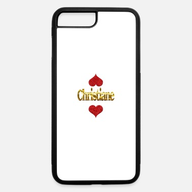 Christian Christiane - iPhone 7 Plus/8 Plus Rubber Case