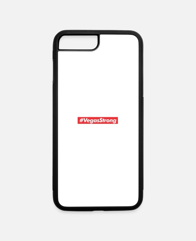 Honor iPhone Cases - Vegas Strong Las Vegas - iPhone 7 & 8 Plus Case white/black