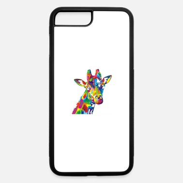 Africa GIFT - COLORFUL GIRAFFE - iPhone 7 & 8 Plus Case