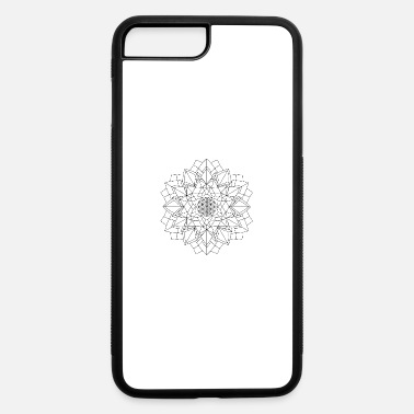 Mandala Oldschool Ink Hipster Illustration 34 - iPhone 7 & 8 Plus Case