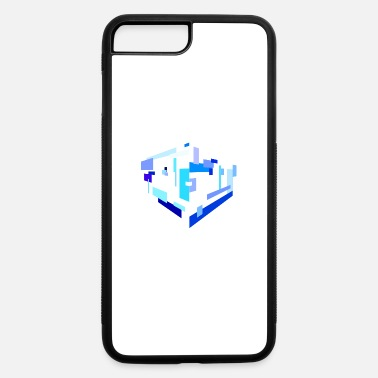 Rectangle Isolated Rectangles - iPhone 7 Plus/8 Plus Rubber Case