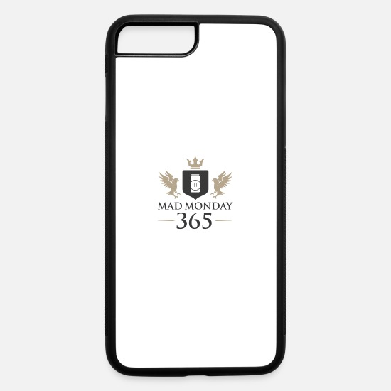 Mad iPhone Cases - Offical Mad Monday Clothing - iPhone 7 & 8 Plus Case white/black