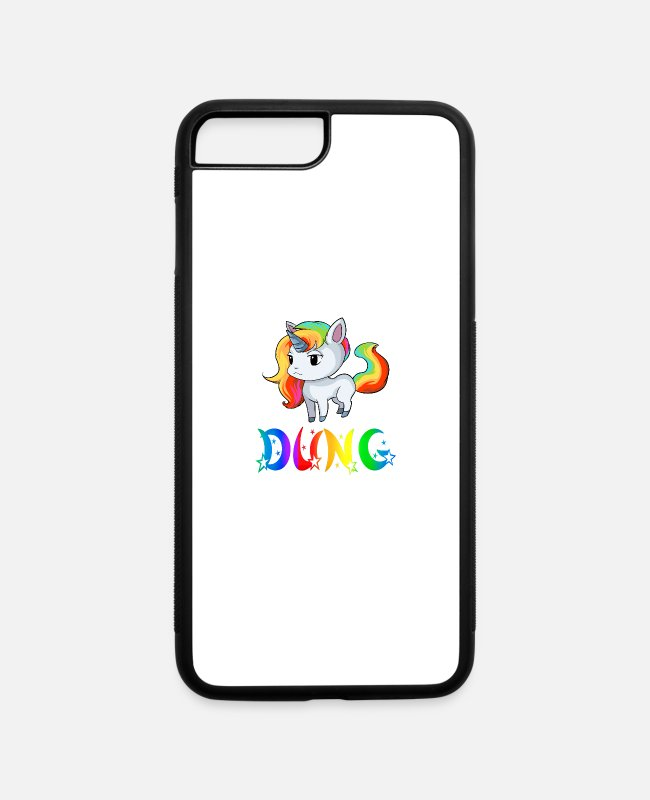 Dung Unicorns iPhone Cases - Dung Unicorn - iPhone 7 & 8 Plus Case white/black