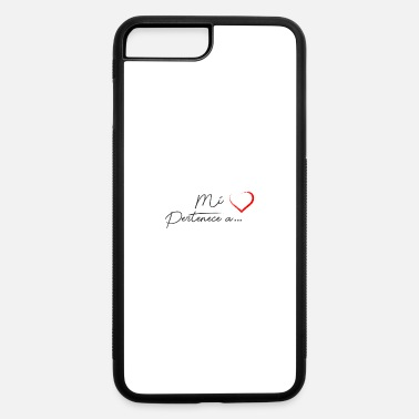 Corazon Mi Corazon (negro) - iPhone 7 & 8 Plus Case