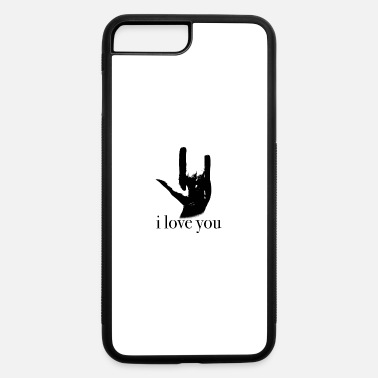 Language sign language I love you - iPhone 7 & 8 Plus Case