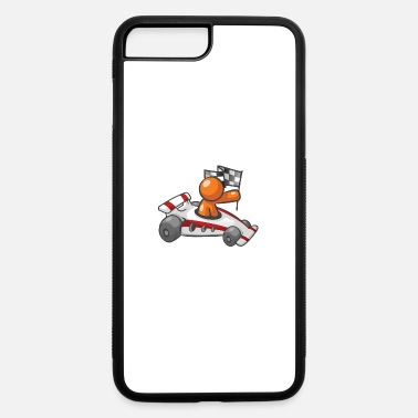 Flag Race Car Checkered Flag - iPhone 7 & 8 Plus Case