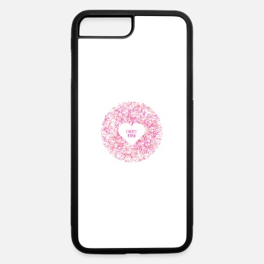 Anti Choose Kind Heart Shaped Anti-Bullying Design - iPhone 7 & 8 Plus Case