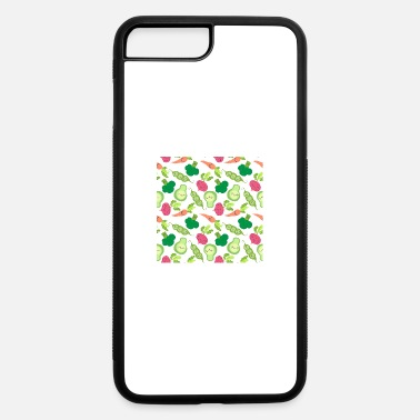 Loopy food vegetables - iPhone 7 Plus/8 Plus Rubber Case