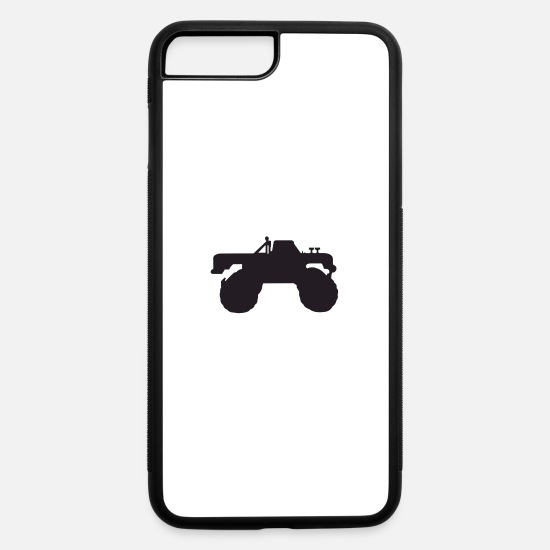 Truck iPhone Cases - monster truck - iPhone 7 & 8 Plus Case white/black