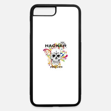 Hackerche Dominant Gear Hacker for Life colorful - iPhone 7 & 8 Plus Case