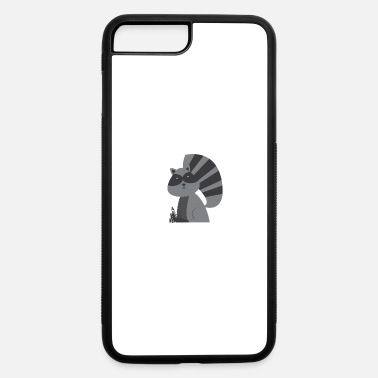 E-zigarette T-shirt steaming raccoon - iPhone 7 & 8 Plus Case