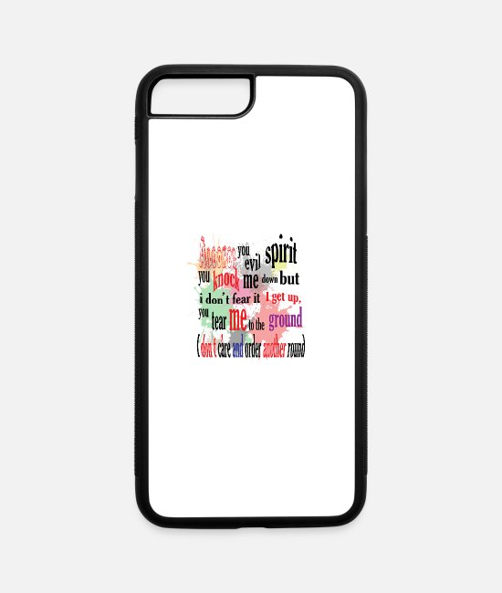 Toast iPhone Cases - alcohol - iPhone 7 & 8 Plus Case white/black