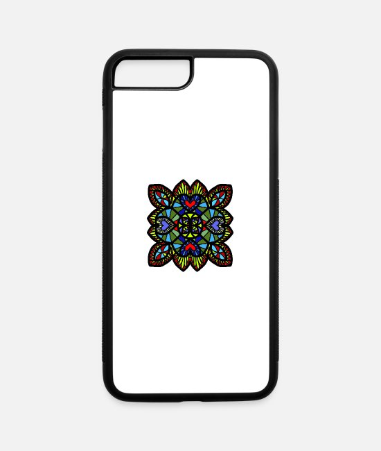 Water iPhone Cases - Mosaik Summer Holiday Present Presentidea Idea - iPhone 7 & 8 Plus Case white/black