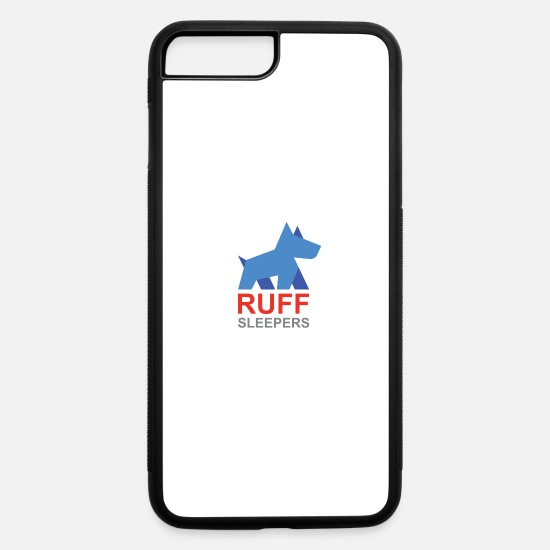 Logo iPhone Cases - ruffsleepers logo 01 - iPhone 7 & 8 Plus Case white/black