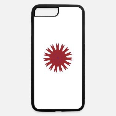 The bright red star. - iPhone 7 Plus/8 Plus Rubber Case