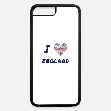 Great Britain I Love Great Britain - iPhone 7 Plus/8 Plus Rubber Case