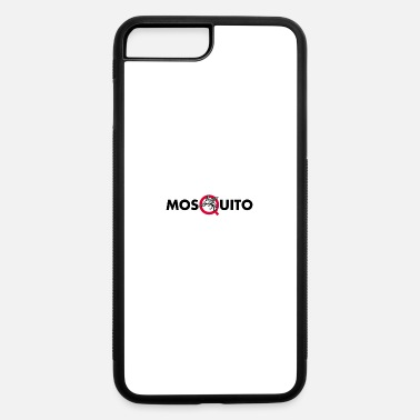 Midge-like Flies Mosquito Text Mascot - iPhone 7 & 8 Plus Case
