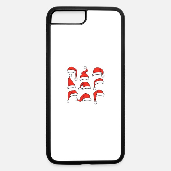 Hatch iPhone Cases - chrismas hat - iPhone 7 & 8 Plus Case white/black