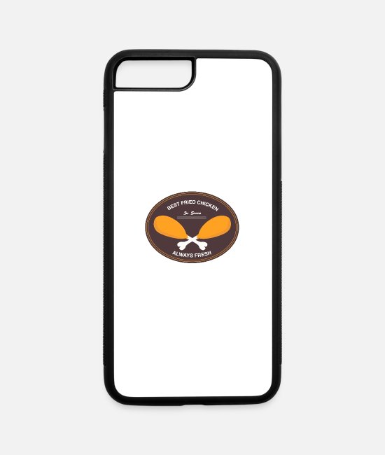 Chicken Coop iPhone Cases - Best Fried Chicken in Town - iPhone 7 & 8 Plus Case white/black