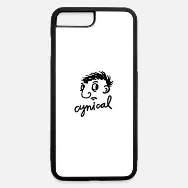 Cynical Cynical Face Gesture Style - iPhone 7 & 8 Plus Case