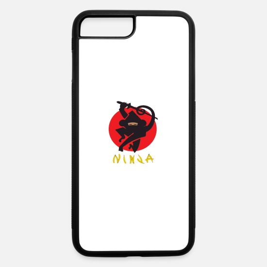 Love iPhone Cases - Love Ninja Monkey Banana - iPhone 7 & 8 Plus Case white/black