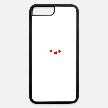 Affection Love Slogan Valentines Day Hearts Affection Gift - iPhone 7 Plus/8 Plus Rubber Case