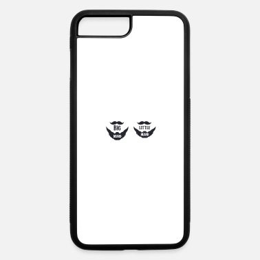 Big Big beard Little beard - iPhone 7 & 8 Plus Case