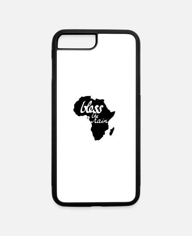 Pop iPhone Cases - Bless the Rain - iPhone 7 & 8 Plus Case white/black