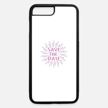 Date Save the date - iPhone 7 & 8 Plus Case