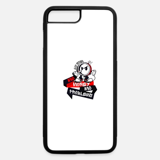 "Pothead iPhone Cases - Cloud Smokers ""MO MONEY MO PROBLEMS"" RED - iPhone 7 & 8 Plus Case white/black"