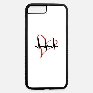 Hjärta heartbeat - iPhone 7 & 8 Plus Case