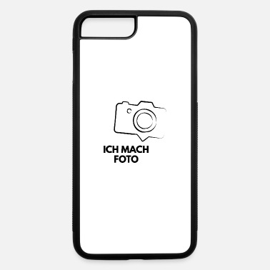 German funny german tourist ich mach Foto - iPhone 7 & 8 Plus Case