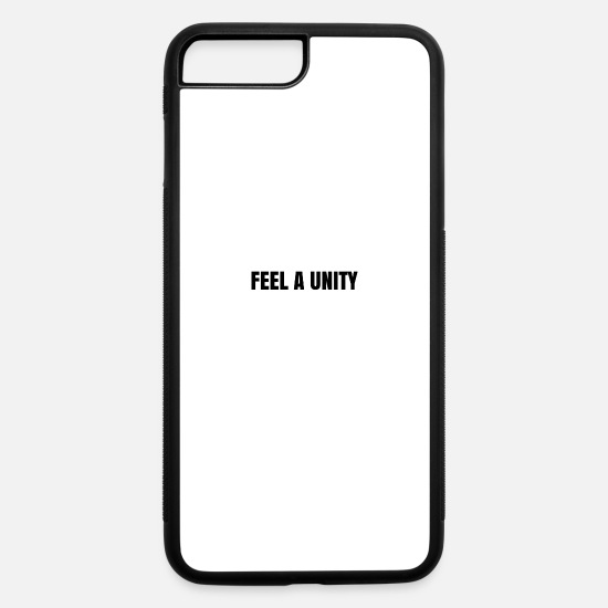 Digital iPhone Cases - FEEL A UNITY - iPhone 7 & 8 Plus Case white/black