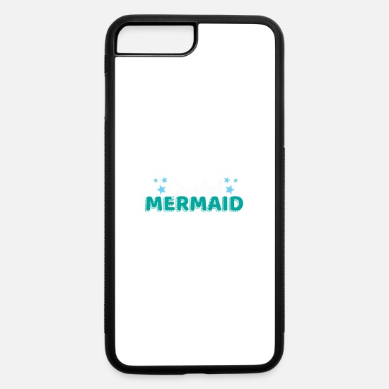 Grandad iPhone Cases - Grandad Mermaid - iPhone 7 & 8 Plus Case white/black