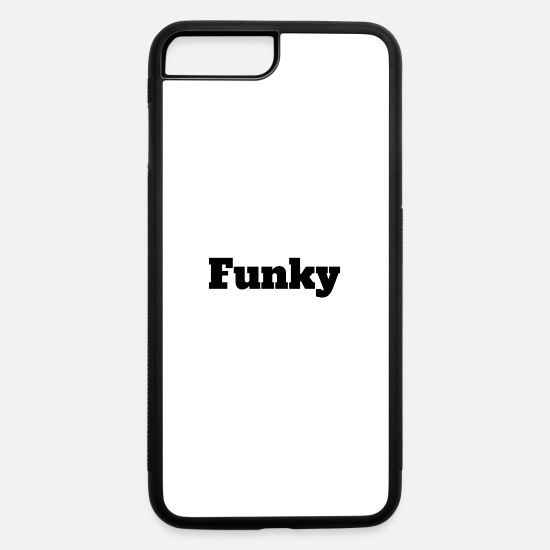 Night Club iPhone Cases - Funky - iPhone 7 & 8 Plus Case white/black