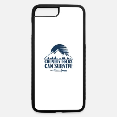 Folk Song Country Folks can Survive - iPhone 7 & 8 Plus Case