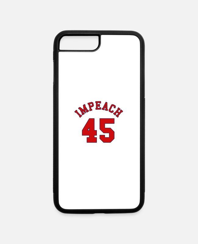 Nixon iPhone Cases - Funny impeach trump 45 - iPhone 7 & 8 Plus Case white/black