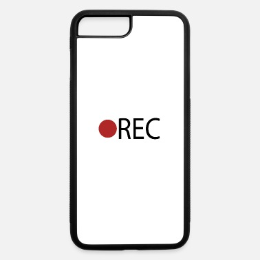 Record REC Record Recording - iPhone 7 & 8 Plus Case