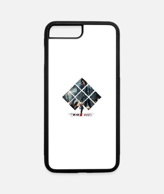 Widow iPhone Cases - Black Widow - iPhone 7 & 8 Plus Case white/black