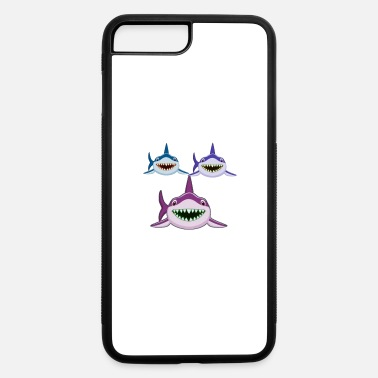 Mouse Furious Sharks - iPhone 7 & 8 Plus Case
